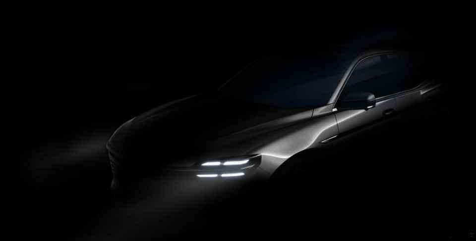 上海车展新车抢先看:众泰i-across设计图发布