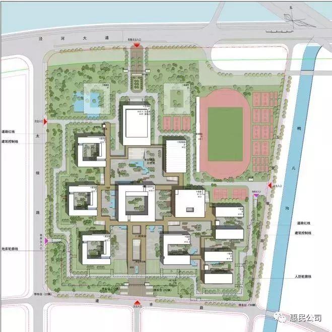 投资10亿的平凉一中新校区正式开工