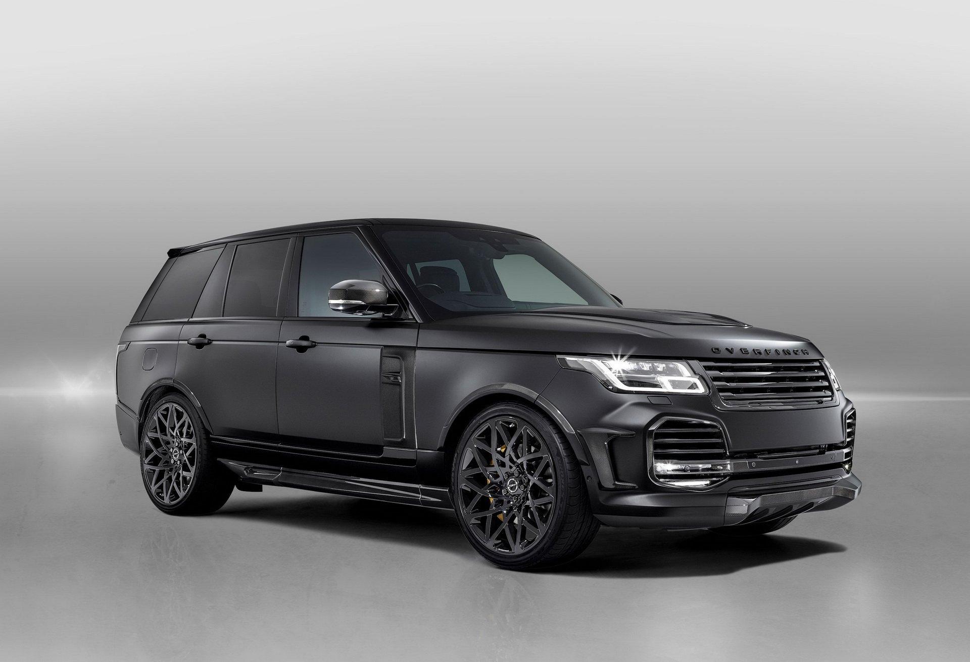 基于路虎揽胜Range Rover 5.0 Superch黑化改装限量