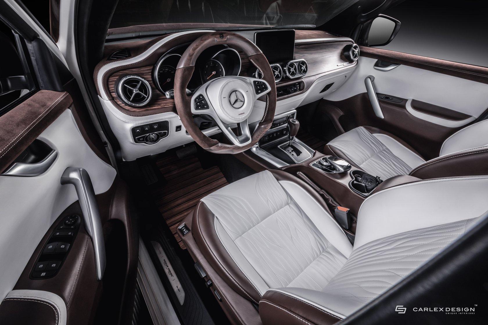 奢华版皮卡梅赛德斯X级皮卡 堪比奢华轿车
