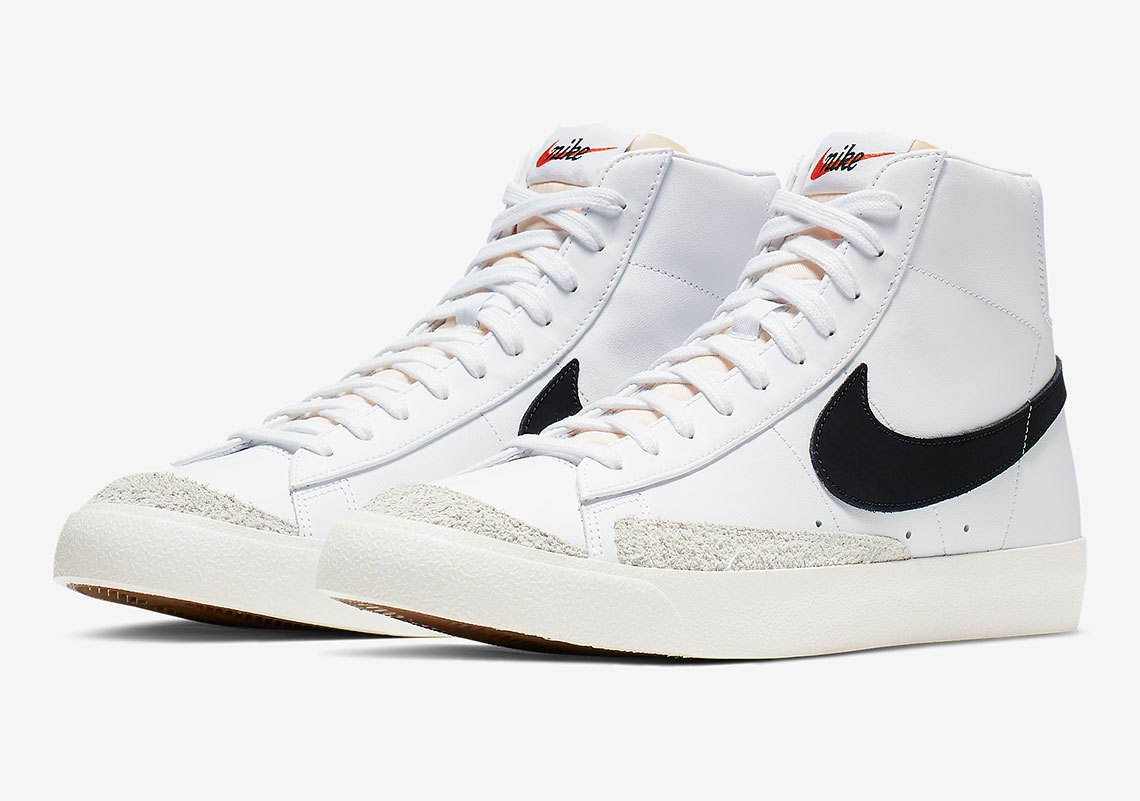 《Nike Blazer Mid 77 Vintage再加码!黑白配色抢手预警!》