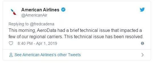 技术故障已解决,美航企正解决航班延误问题