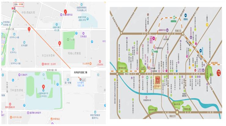 光华大道规划图