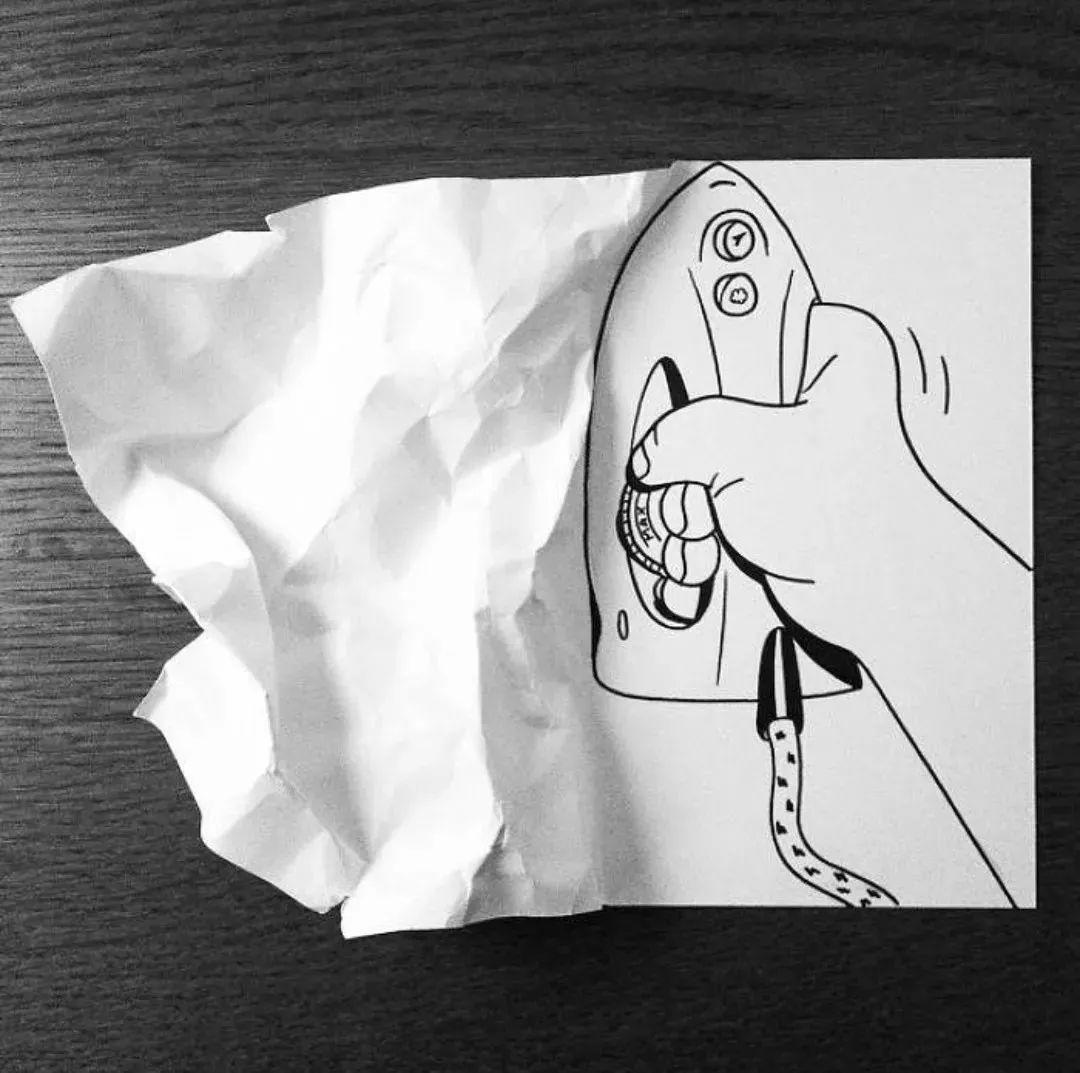 折折画画撕撕,a4纸也能这么好玩