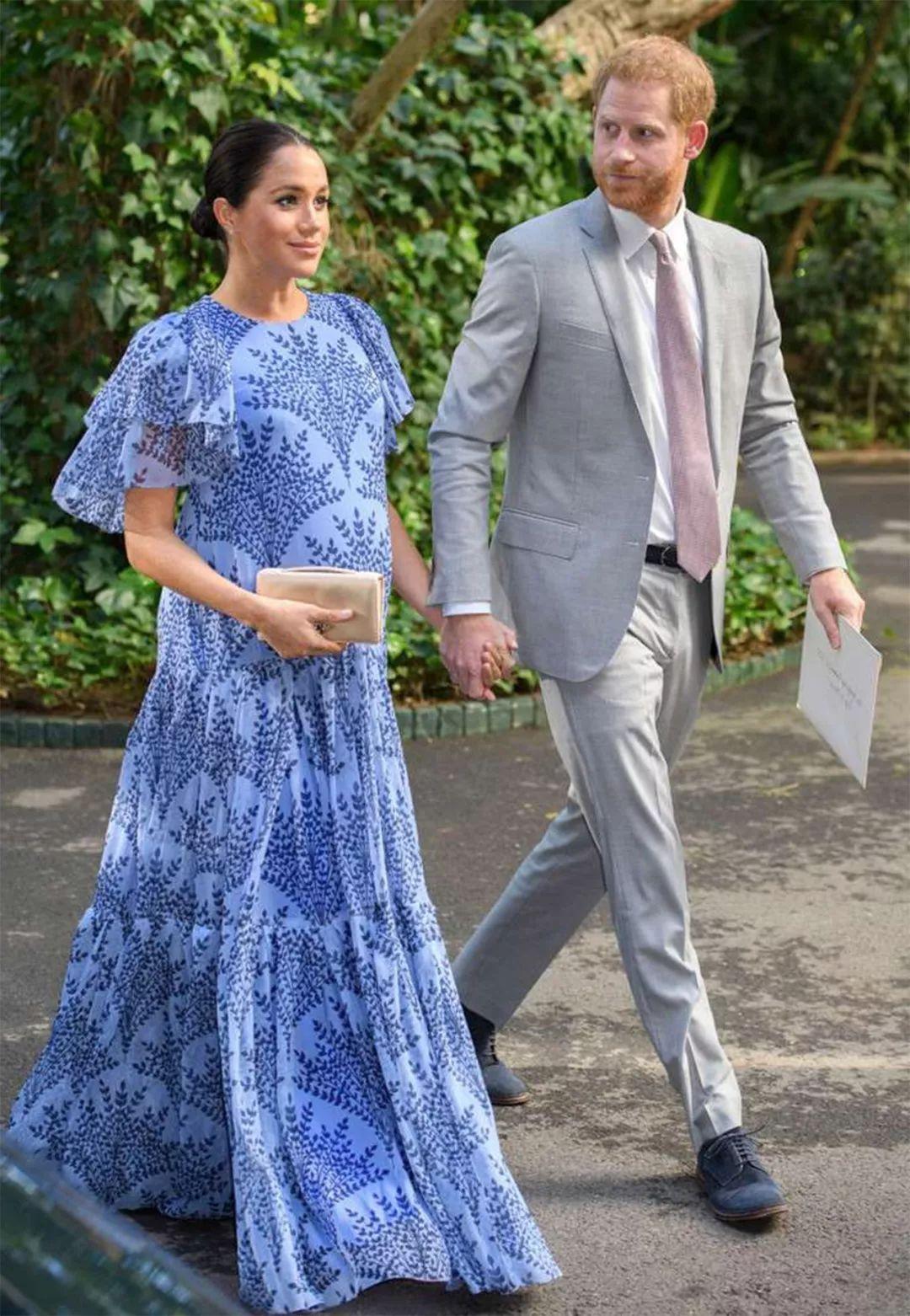 38岁梅根成王室问题人物,但哈里全力支持妻子,齐心为生宝宝准备