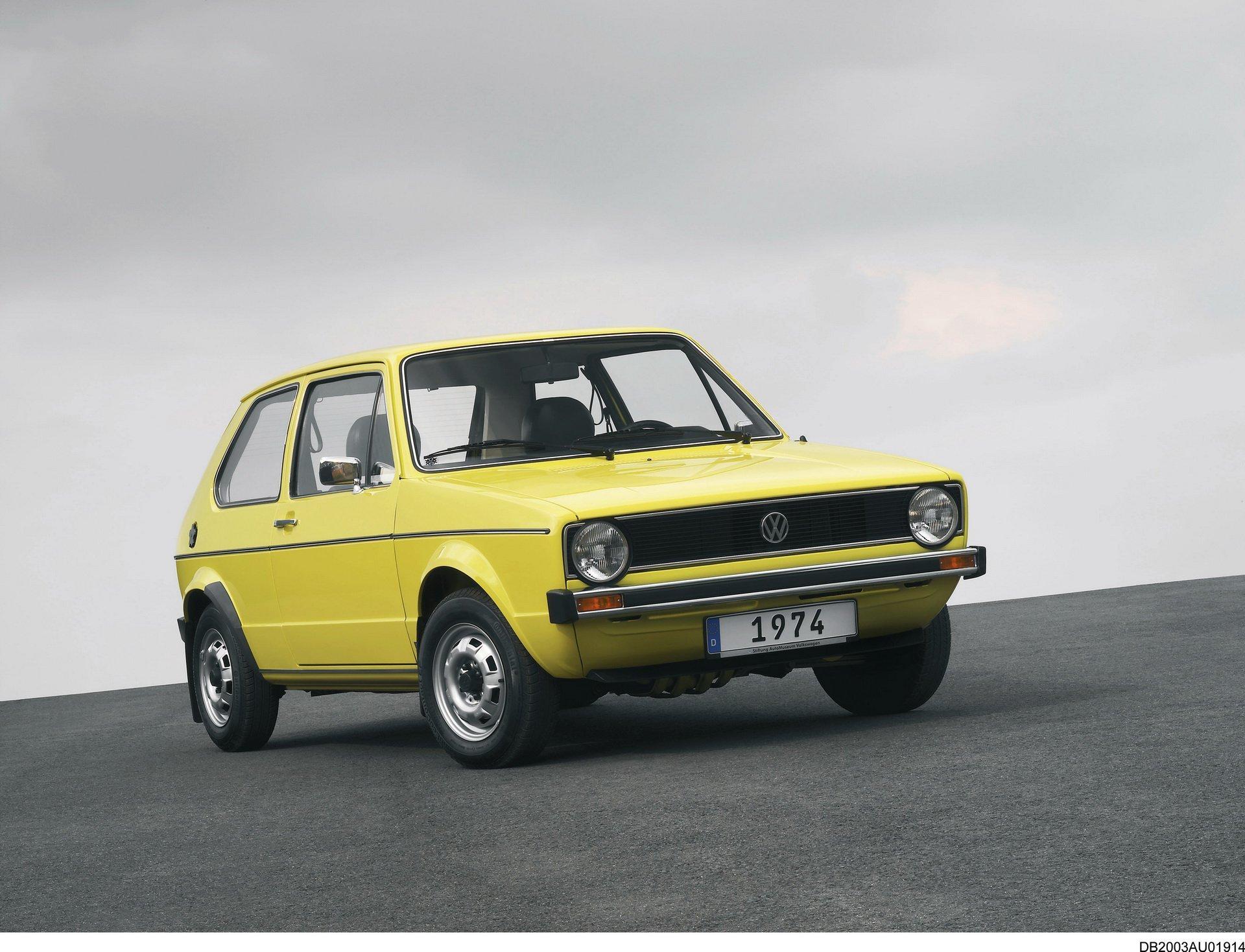 高尔夫车型为大众品牌的历史变迁 车型和内
