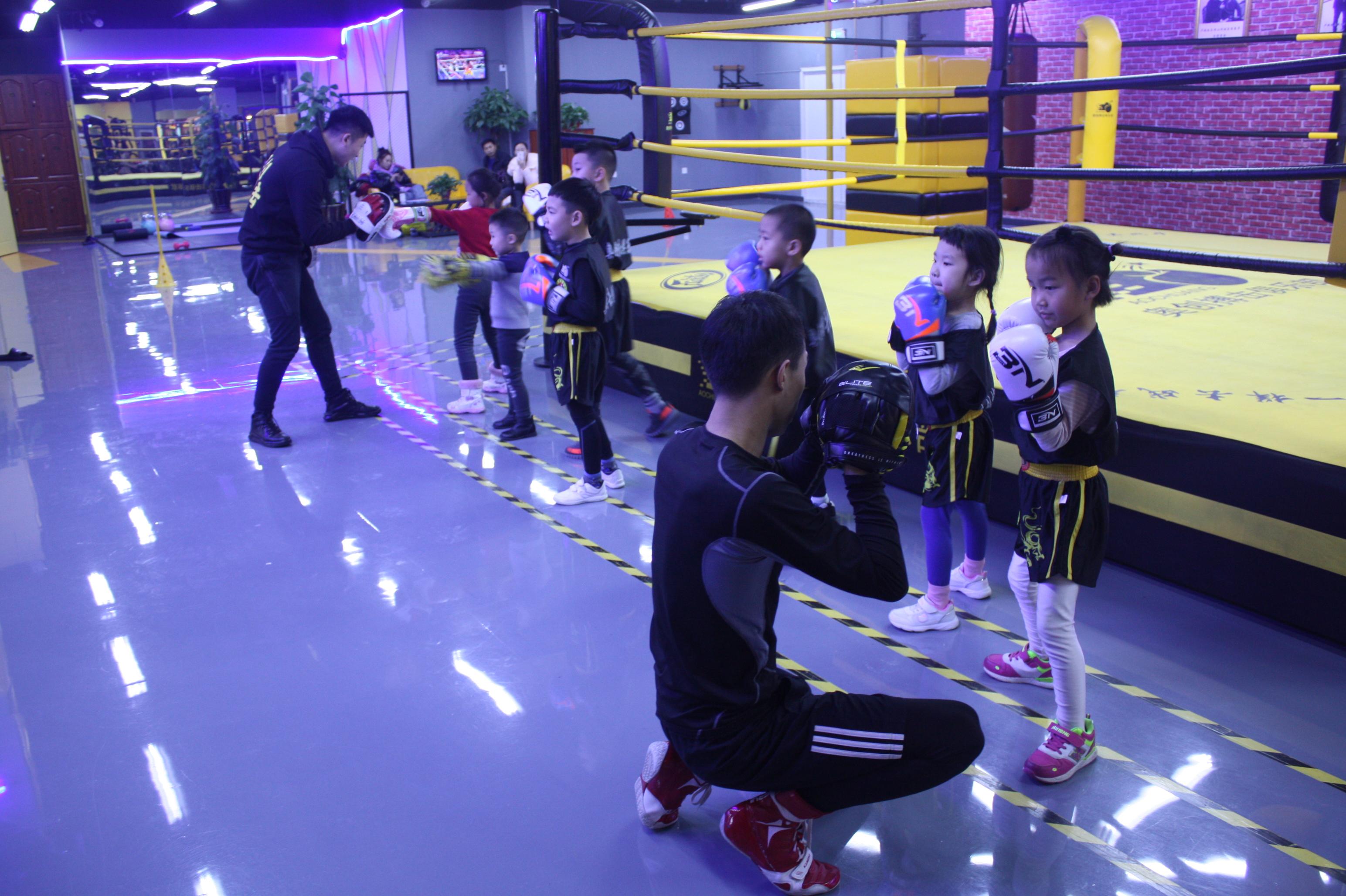 沈阳教的最好的儿童自由搏击培训班