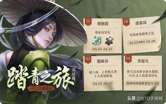 王者荣耀4.2更新:四大活动三大宝箱,SNK英雄永久皮肤免费得!