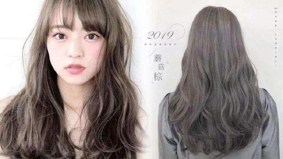 2019韩妞最爱新发色'蕈菇灰棕'超夯!仙气爆棚又显白!