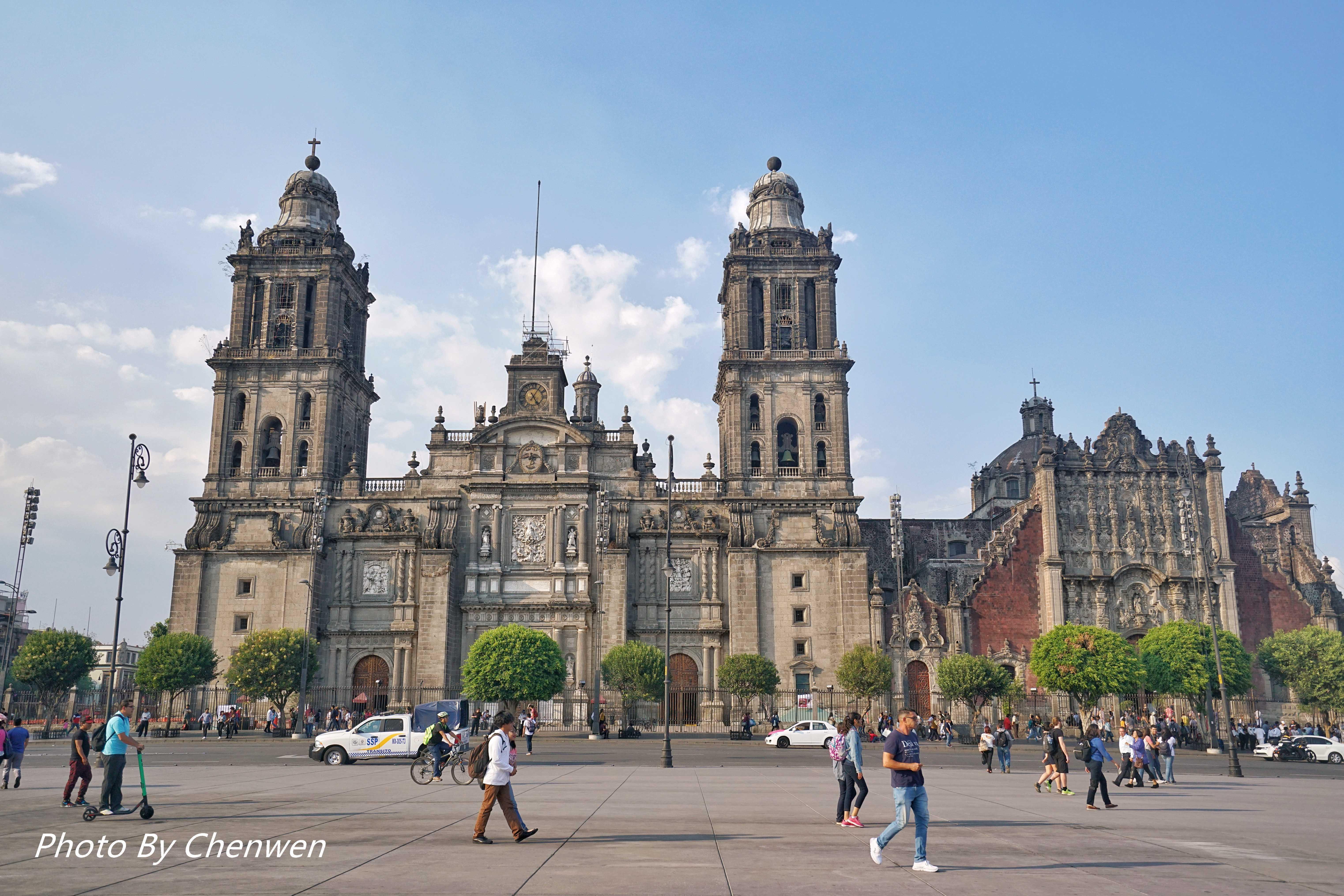 拉美最大的天主教堂,竟建在阿兹特克神庙上,历时250年完工