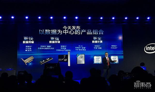 英特尔在北京和美国同时正式发布了以数据为中心的产品组合