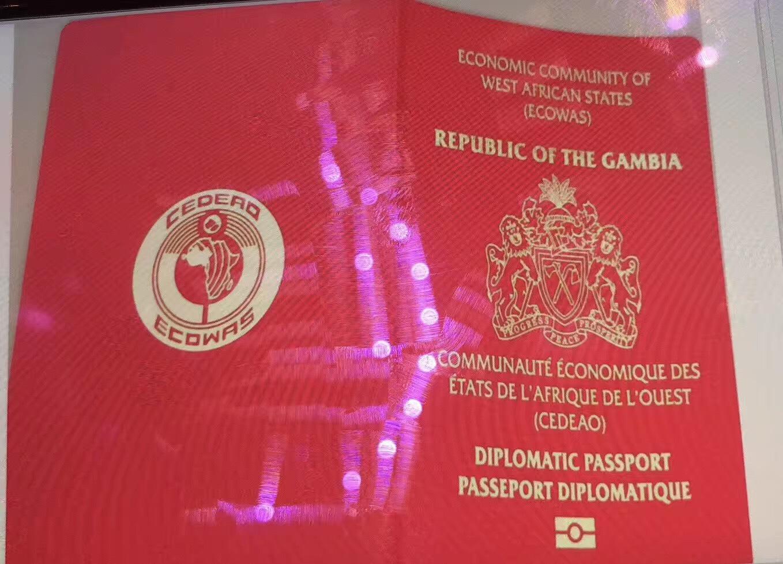 几内亚外交护照