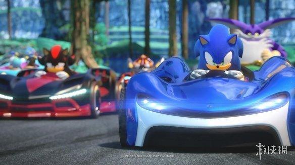 《组队索尼克赛车》游戏新预告刺激非凡的竞速游戏