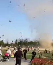 建湖双湖公园惊现龙卷风(视频)?听气象专家说