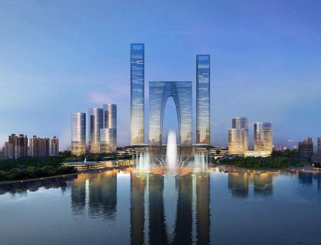 """江苏最""""傲娇""""的建筑,荣获4个中国之最,安装电梯总数达100部"""