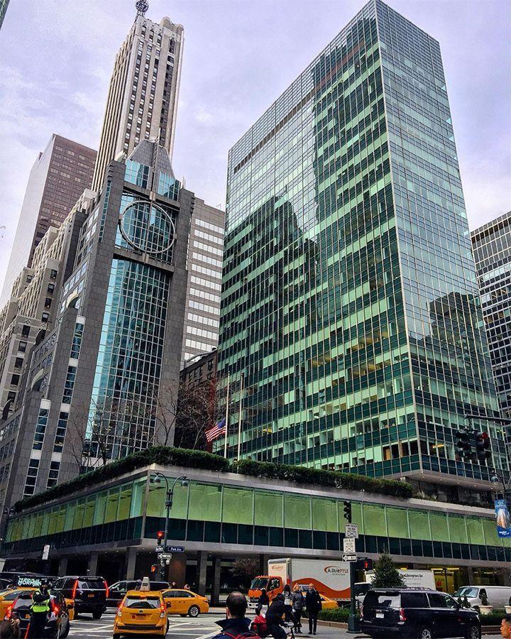 纽约花旗大厦_为什么纽约拥有全世界最棒的天际线_摩天大楼