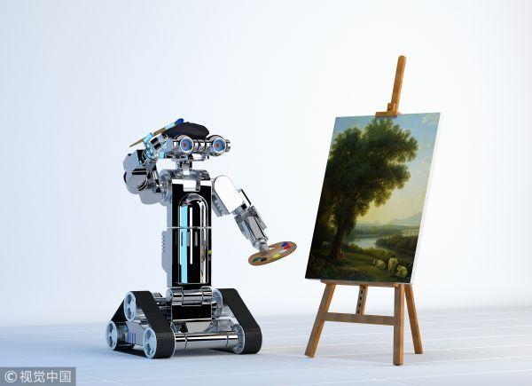"""藝術傢要""""丟飯碗""""瞭嗎?外媒:人工智能可模仿畫傢作品_創作"""""""
