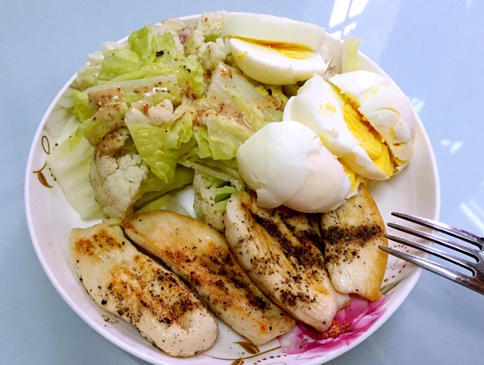营养减肥三餐食谱图片