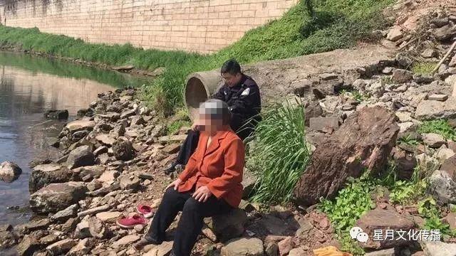 九支镇一老人患重病怕拖累儿女 欲跳河轻生被民警劝阻
