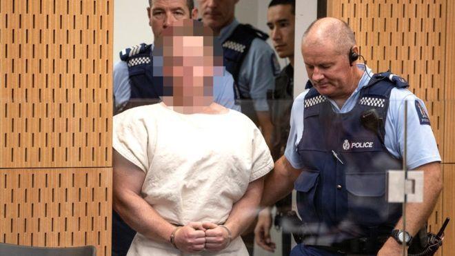 新西兰枪击案枪手将面临50项谋杀指控