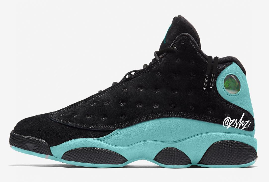 "《诗意""岛上夜色""!Air Jordan 13 ""Island Nights"" 新配色!》"