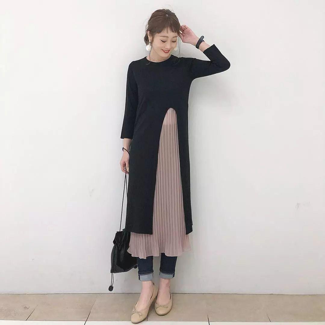 日本身高158cm小姐姐的日常穿搭超圈粉,引无数路人模仿!