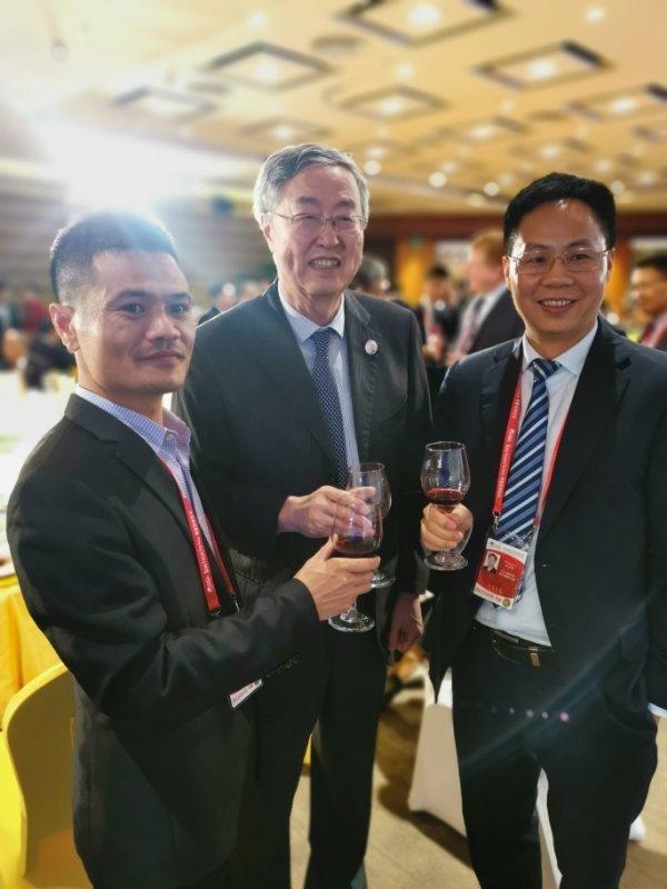 深圳市成大智能装备股份有限公司董事长梁文飞参加博鳌亚洲论坛