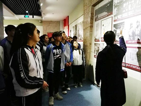 镇平县雪枫中学举行 缅怀革命先烈 凝聚青春力量 主题纪念活动