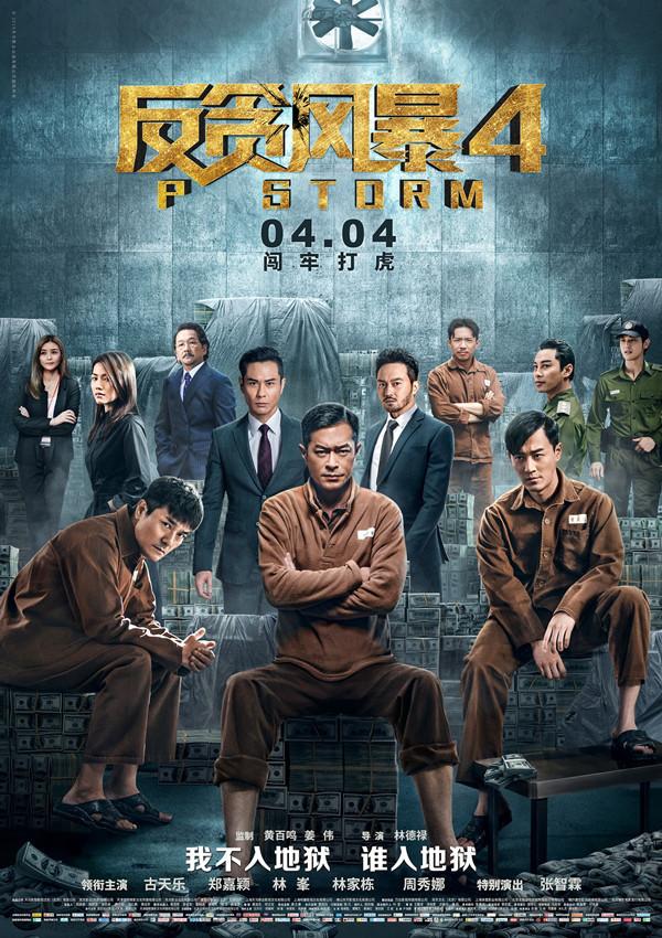 《反贪风暴4》:20倍速TVB套路