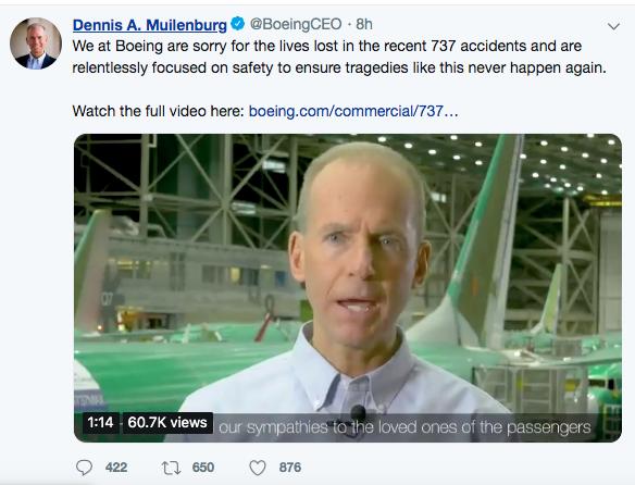 波音终于承认了!空难与软件系统有关,但仍对737 MAX基本安全有信心