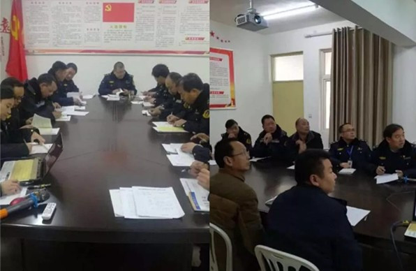 济源梨林检测站: 推进学习型服务型党支部建设