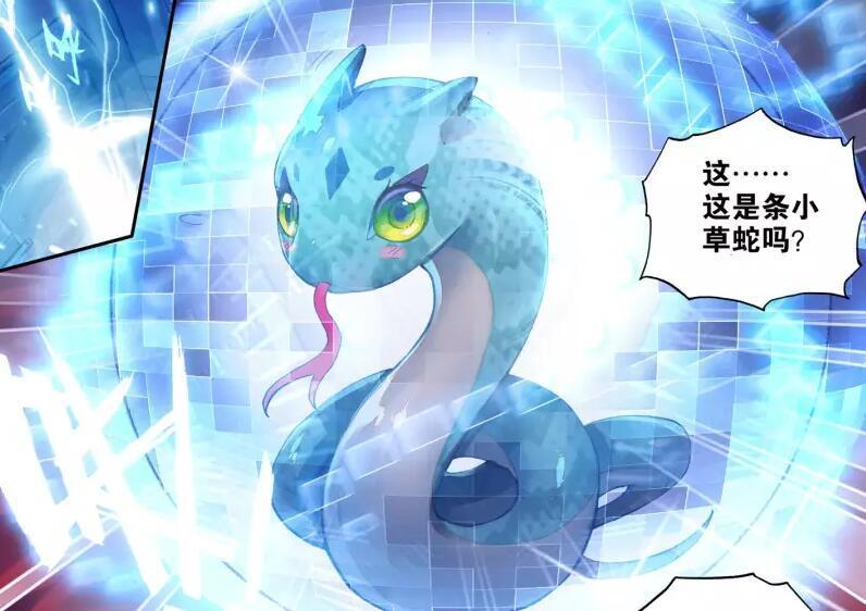 龙王传说:冰火魔虎化作养分,助阵唐舞麟升级千年魂灵