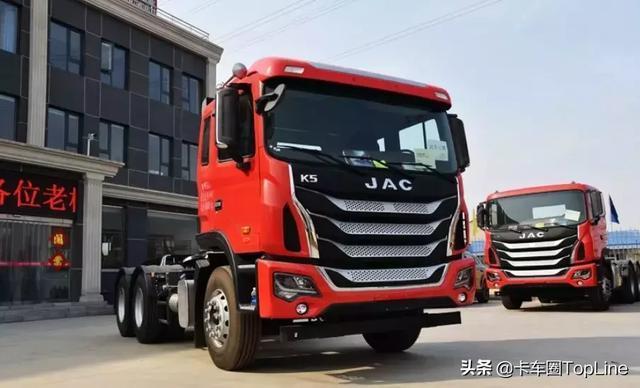 吉尔法K5拖拉机公司为砂石运输提供一站式解决方案
