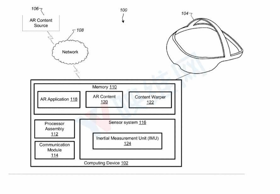"""谷歌申请了一份不同于""""谷歌眼镜""""的AR头显专利"""
