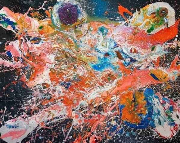 """2岁办画展,4岁赚百万,7岁登上福布斯,这个少女被称为""""现代毕加索""""!"""
