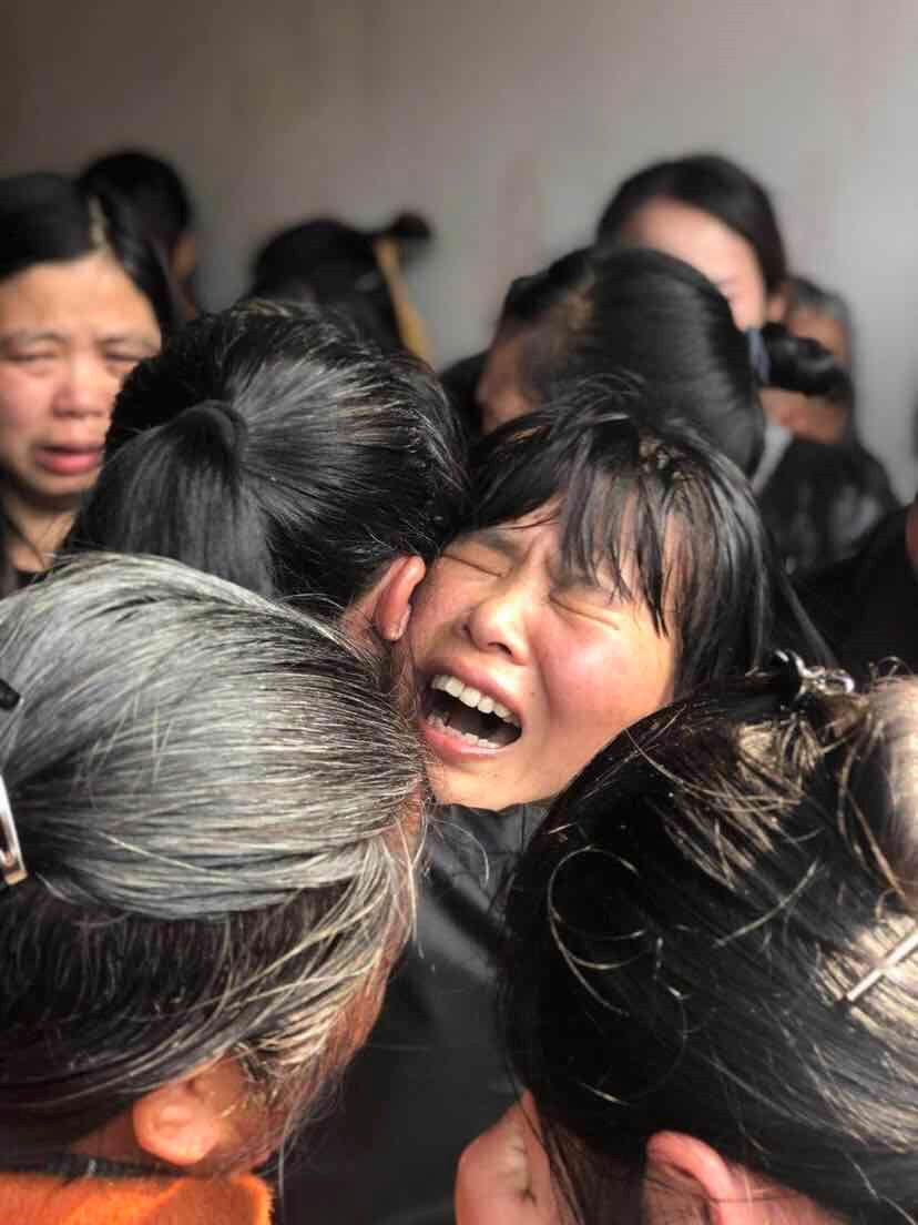 赣州籍烈士古剑辉,丁振军回家了 现场万人泪奔