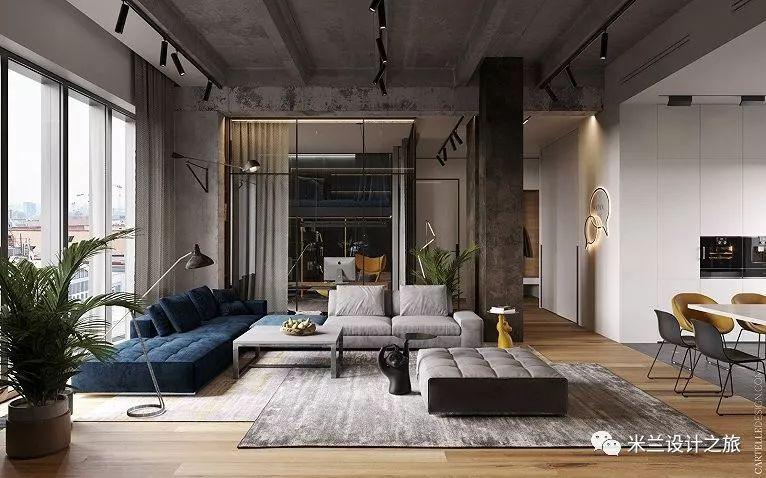 一套136㎡的住宅,超美的loft演绎