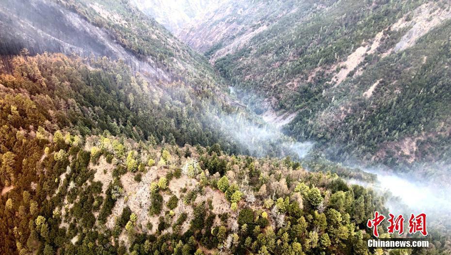 四川木里森林火灾火场已无蔓延危险 确认为雷击火