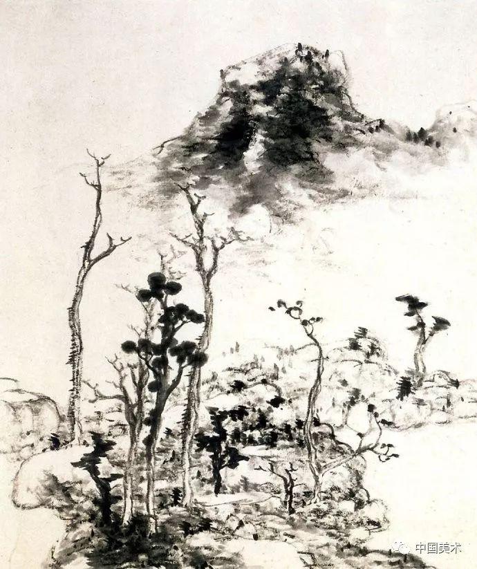 八雅轩丨 张仃 中国山水画史