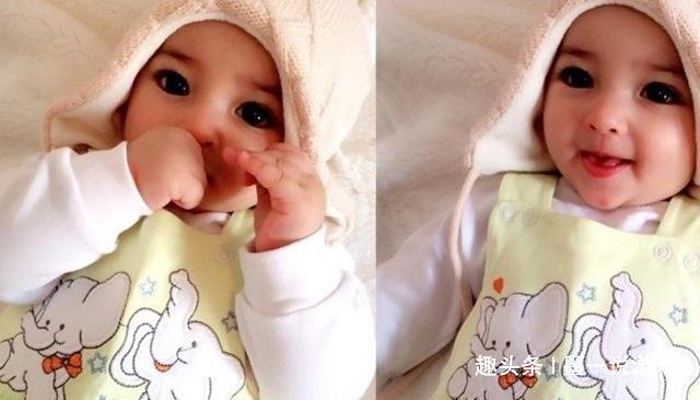 出生后因为美貌迷倒众人的婴儿,四个月后的模样发生了大变化
