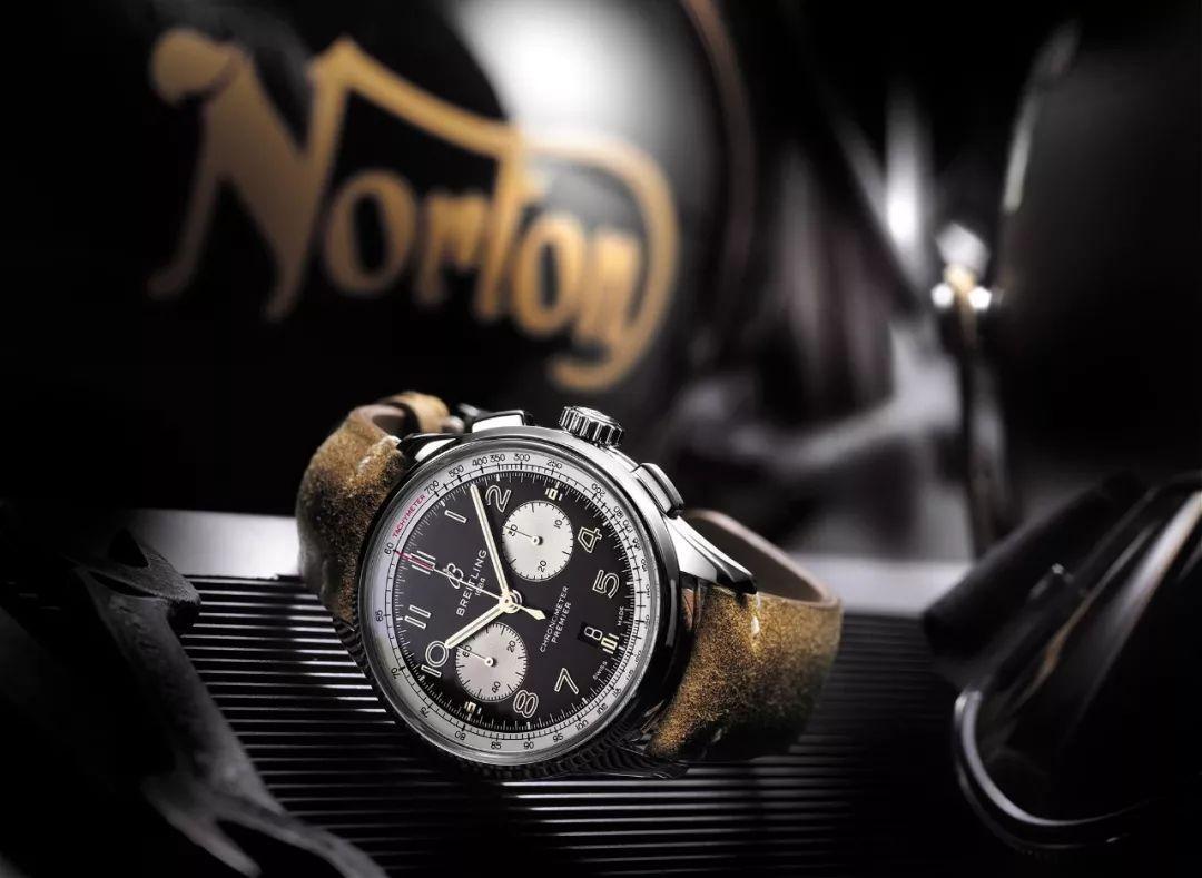BREITLING - Premier B01 计时腕表诺顿特别版