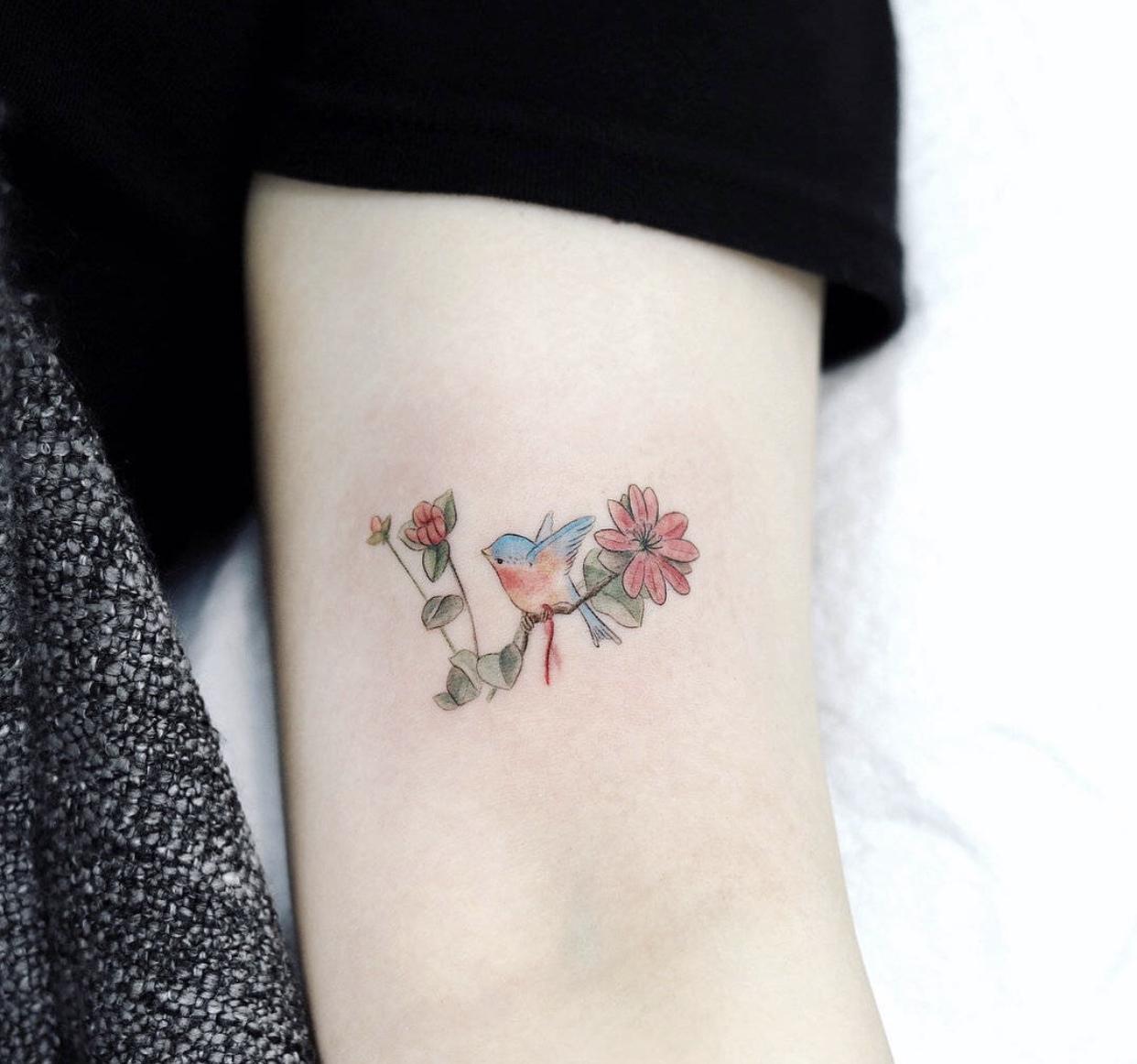 想了好几年的纹身不知道纹哪?七个绝佳位置供你参考!_手机搜狐网