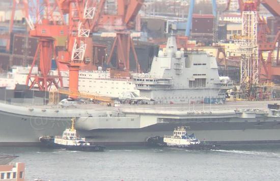 进度再次刷002有望携手辽宁舰,出席海军节阅舰式军迷乐翻天