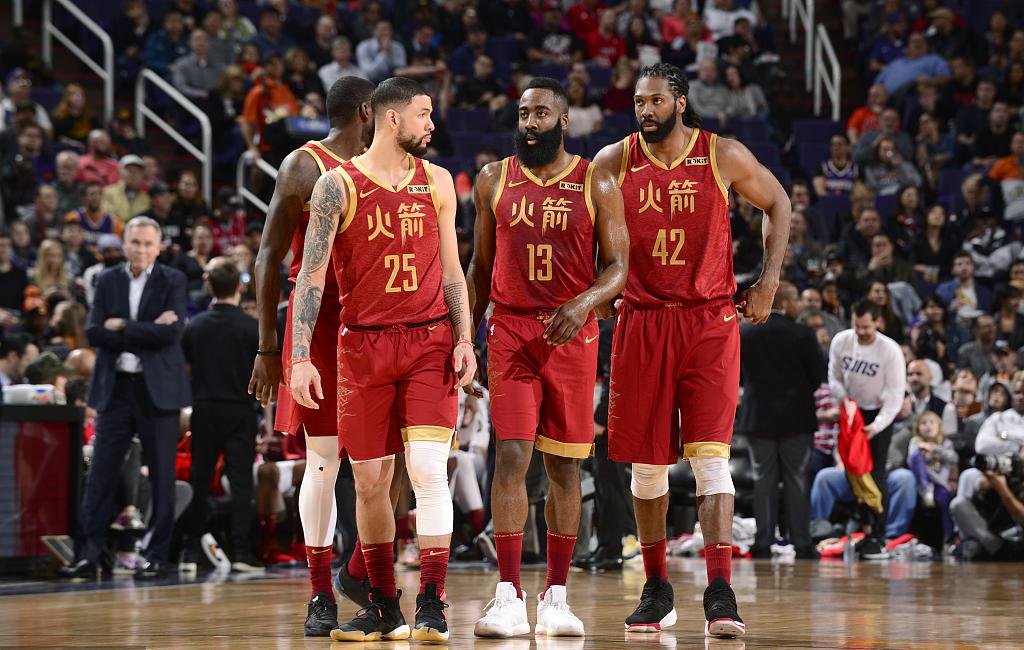 太阳vs火箭_NBA明日预告:14场对决,火箭冲击6连胜,勇士赢球可锁定西部第