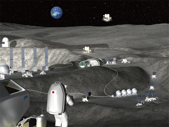 脑洞大开!日本航天机构JAXA计划使用远程控制机器人建造月球基地