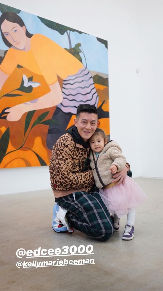 陈冠希称希望女儿嫁给像自己一样的男人,分享哄娃趣事,满脸宠溺