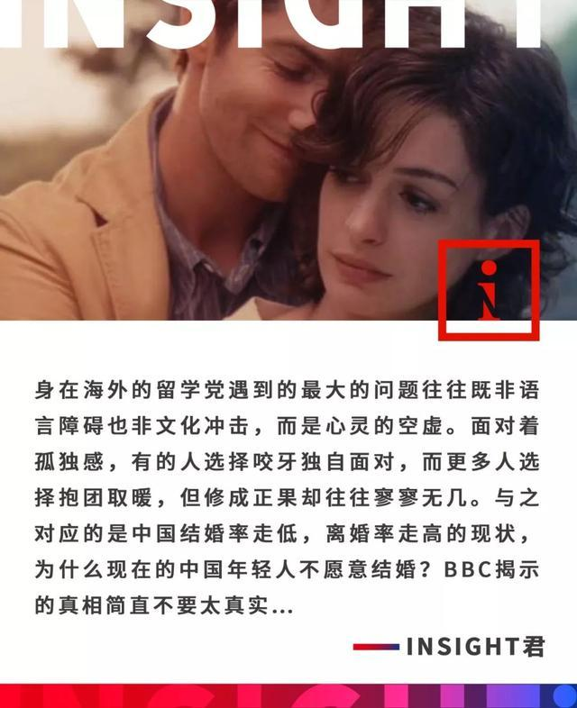 中国年轻人为什么越来越不愿意结婚?BBC揭示的真相不要太写实....