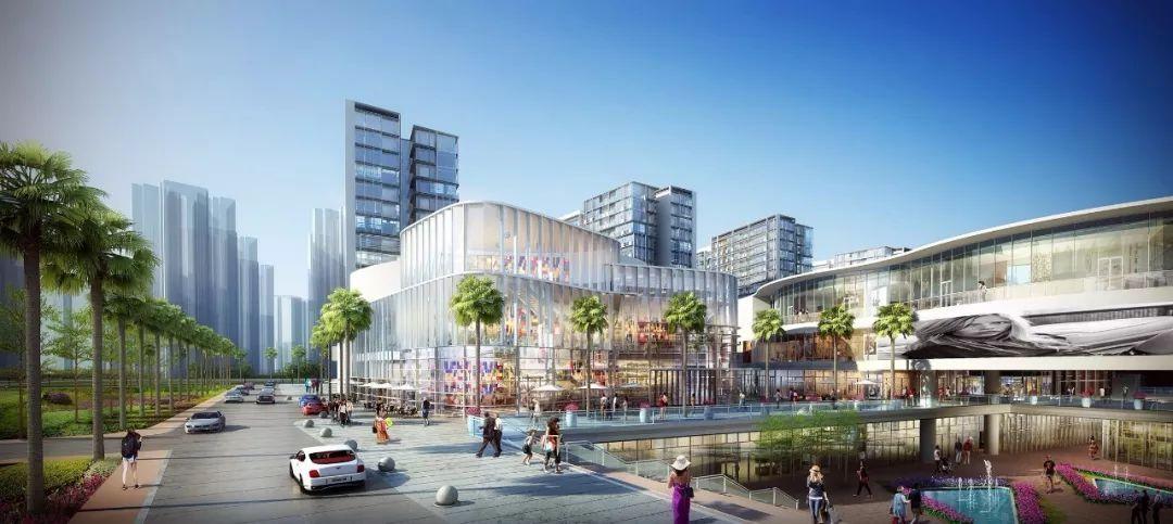 深圳首家全开放式的购物街区,预计年底开业