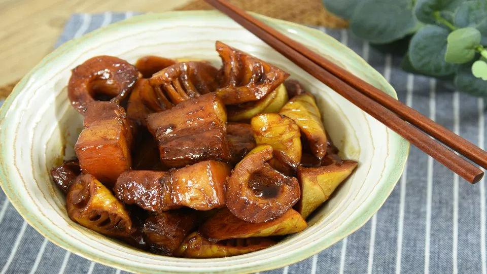 简易版的春笋红烧肉,超级下饭的硬菜