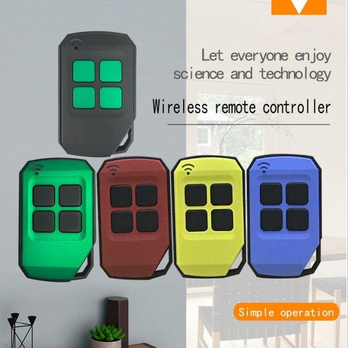 遥尔泰无线电车库门遥控器YET2129有5款颜色。